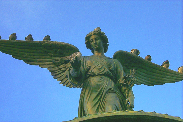 The Angel Of The Waters - Bethesda Fountain: C72
