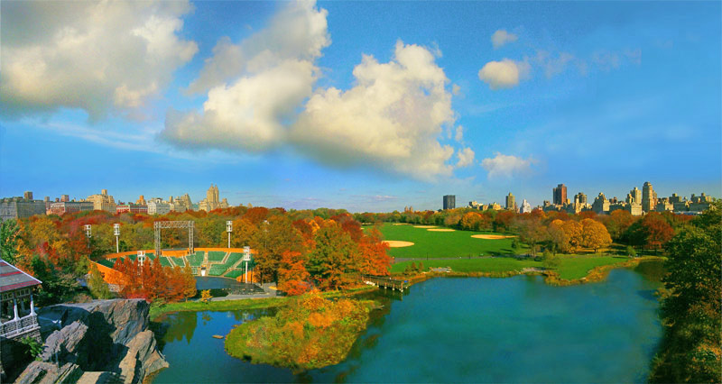 Great Laen from Belvedere Castle: C80