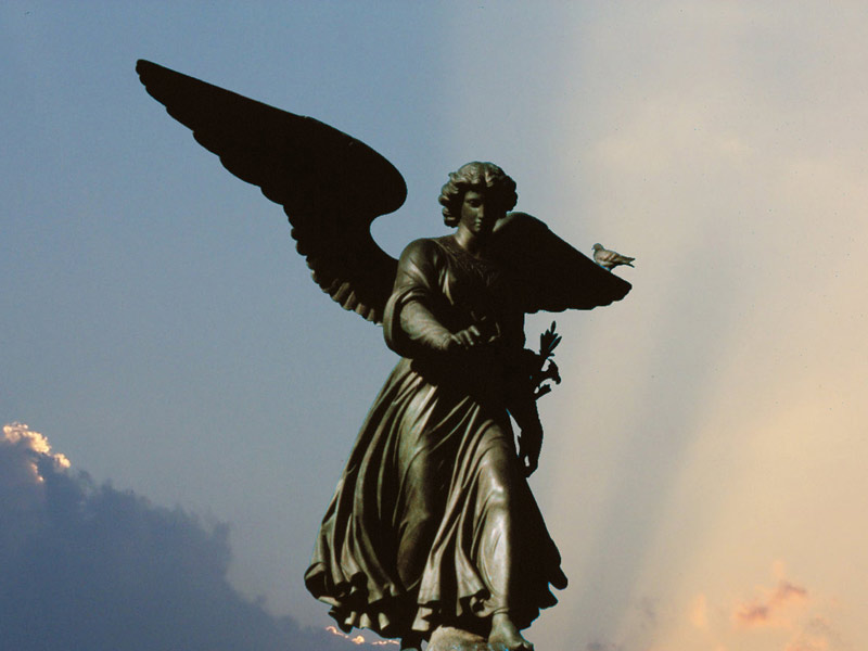 Bethesda Fountain: C72 - The Angel Of The Waters